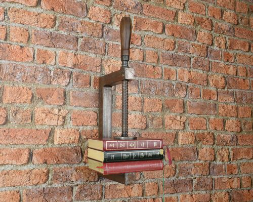 Clamp Book Shelf